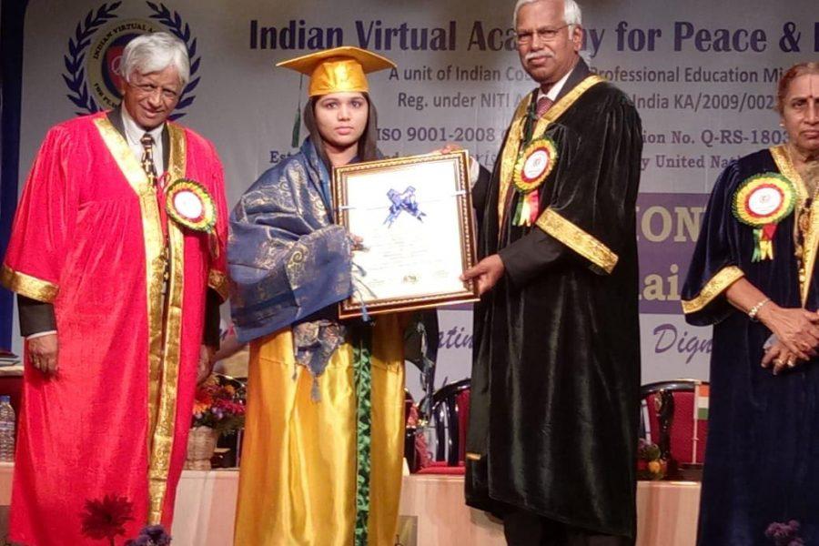 Honorable Doctorate Award