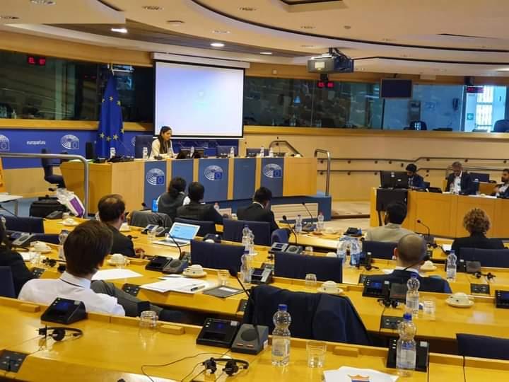 EU India 40, Brussels, Europe Parliament