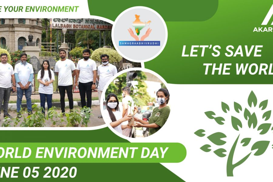 Worldenvironmentday :June 5th #gogreen #savetheenvironment -Dr. Sneha Rakesh